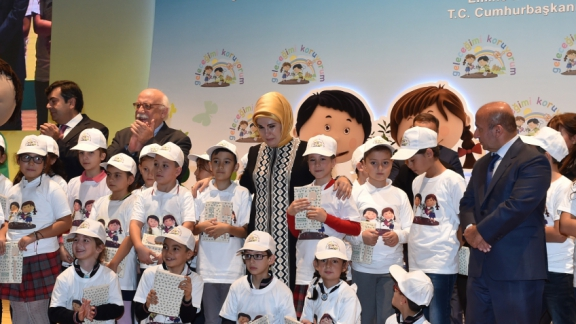 "Minister Avcı attends promotion meeting of ""I am Protecting My Future Project"""
