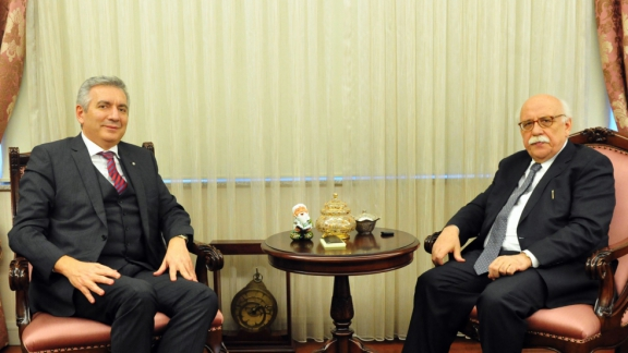 Visit to Minister Avcı from İSO