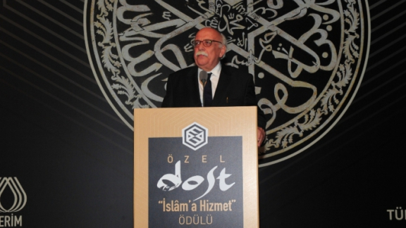 Minister Avcı participates in the Special Friend Service to Islam Awards ceremony